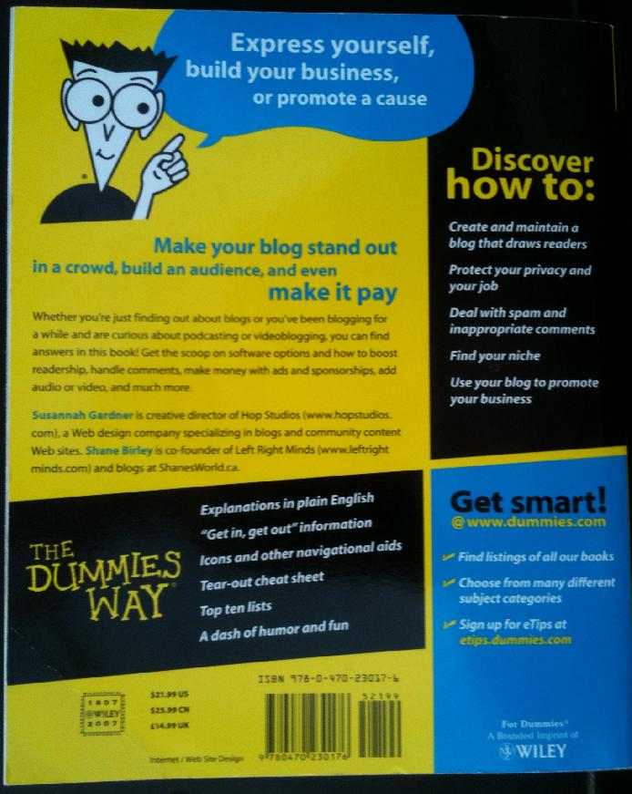 Blogging_for_dummies_back