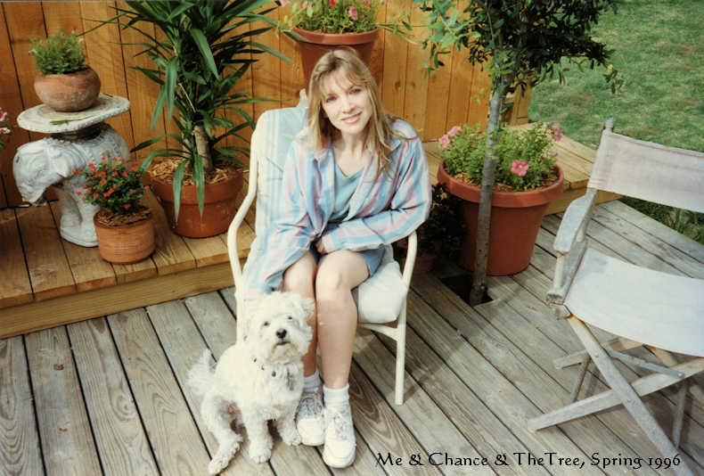 jannie_And_chance_tree_spring_1996